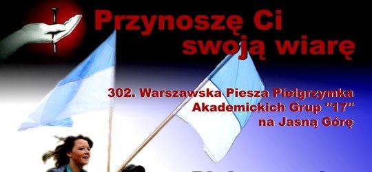 Pielgrzymka na Jasną Górę z grupą Błękitno – Białą!