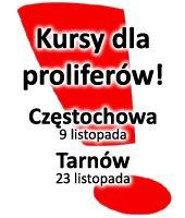 Kurs dla PROLAJFERÓW! Najbliższa edycja w Częstochowie