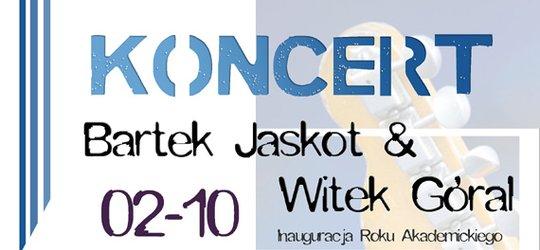 Koncert Bartka Jaskota w DA