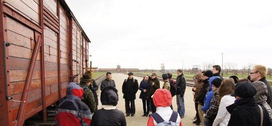 Droga Krzyżowa w Auschwitz-Birkenau