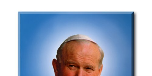 Modlitwa przed relikwiami bł. Jana Pawła II