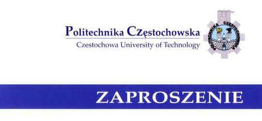 Politechnika Częstochowska - Zaproszenie na Inaugurację Roku Akademickiego 2013/2014