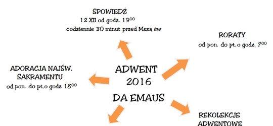ADWENT 2016 w DA EMAUS
