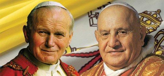 Zapraszamy do wspólnego pielgrzymowania na Kanonizację dwóch Papieży: bł. Jana Pawła II i bł. Jana XXIII.