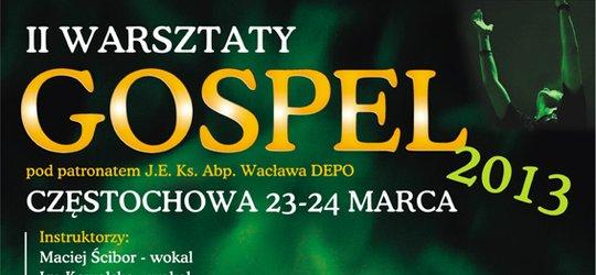 II Warsztaty GOSPEL 2013 z udziałem Natalii Niemen