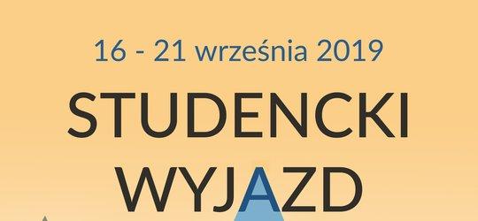 WAKACYJNY STUDENCKI WYPAD 2019