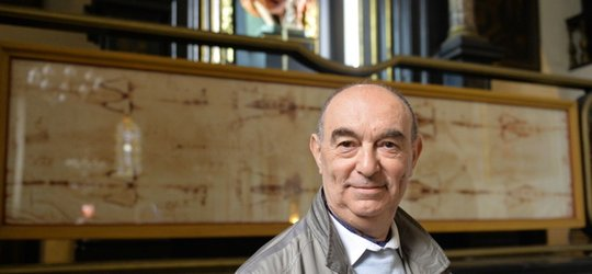 Spotkanie z fotografem i badaczem Całunu Turyńskiego.