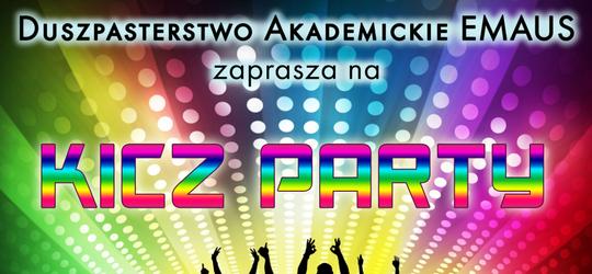 KICZ PARTY, czyli impreza z dystansem