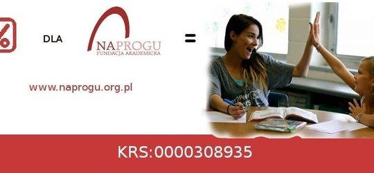 1% na rzecz Fundacji Akademickiej Na Progu