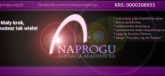 """Apel Fundacji Akademickiej """"NA PROGU"""""""