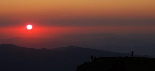 Wypad na wschód słońca